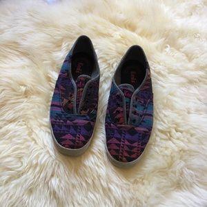 Women's tribal print slip-on Keds Sneakers